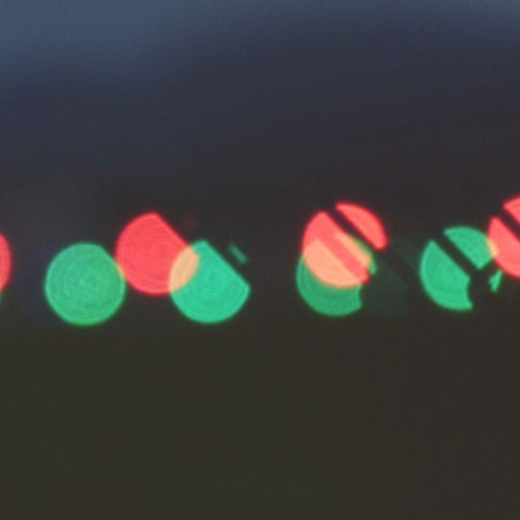 lichten in het donker